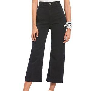Free People Patti Wide Leg Cropped Jean/Pant